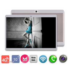 3-28 Discount 10 inch 4G LTE Tablet PC Android 6.0 RAM 4GB ROM 64GB Dual SIM Cards 1920*1200 IPS 10.1 inch GPS Tablet+Gifs(China (Mainland))