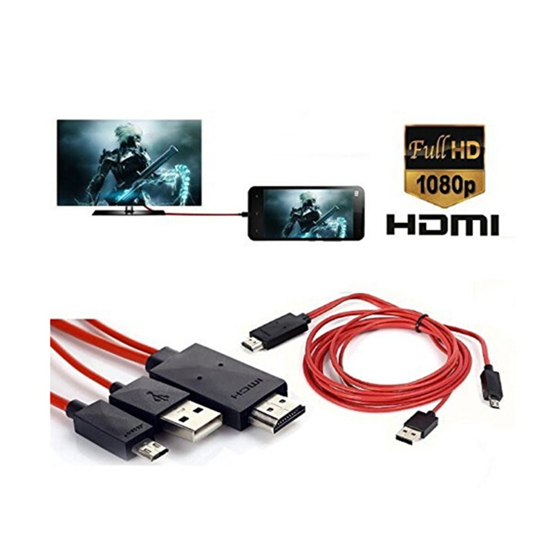 Wholesale New Arrivals 2016 Hot Sale MHL MIcro USB to HDMI 1080P HD TV Cable Adapter for S3 S4 S5 Note 2 Note 3(China (Mainland))