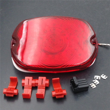 Aftermarket Motorcycle Parts LED Tail Light FOR Harley Davidson  Softail Sportster Road King Dyna Electra Glide Fat Boy RED(China (Mainland))