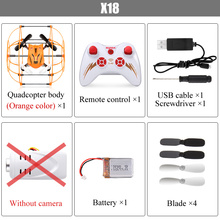 SYMA X18 4CH 2.4G 6-Axis Shatterproof Remote Control Sider Aircraft 3D Rollover Gimbal RC Helicopter Drone toys 100% original(China (Mainland))