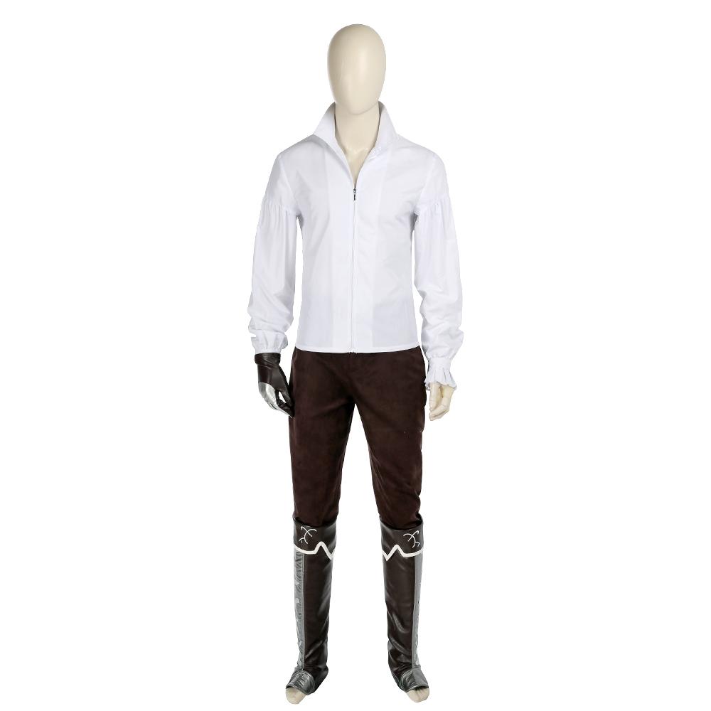 New Arrival Assassin's Creed 2 Costume Ezio Auditore Da Firenze Costume Cosplay Costume For Men Halloween Costume