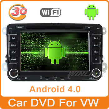 Android 4.0 Car DVD Playrer Car PC For VW Passat Golf5 6 Tiguan5 with 3G Wifi GPS(free map)