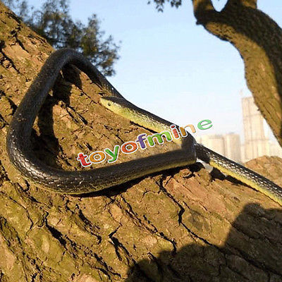 130Cm Real Rubber Toy Fake Snake Safari Garden Prop Joke Prank Halloween Gift(China (Mainland))
