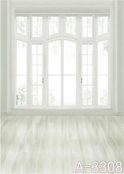 600CM*300CM Smooth wooden floor glass windows and doors backdrop photography mini backgrounds studio backgrounds<br><br>Aliexpress