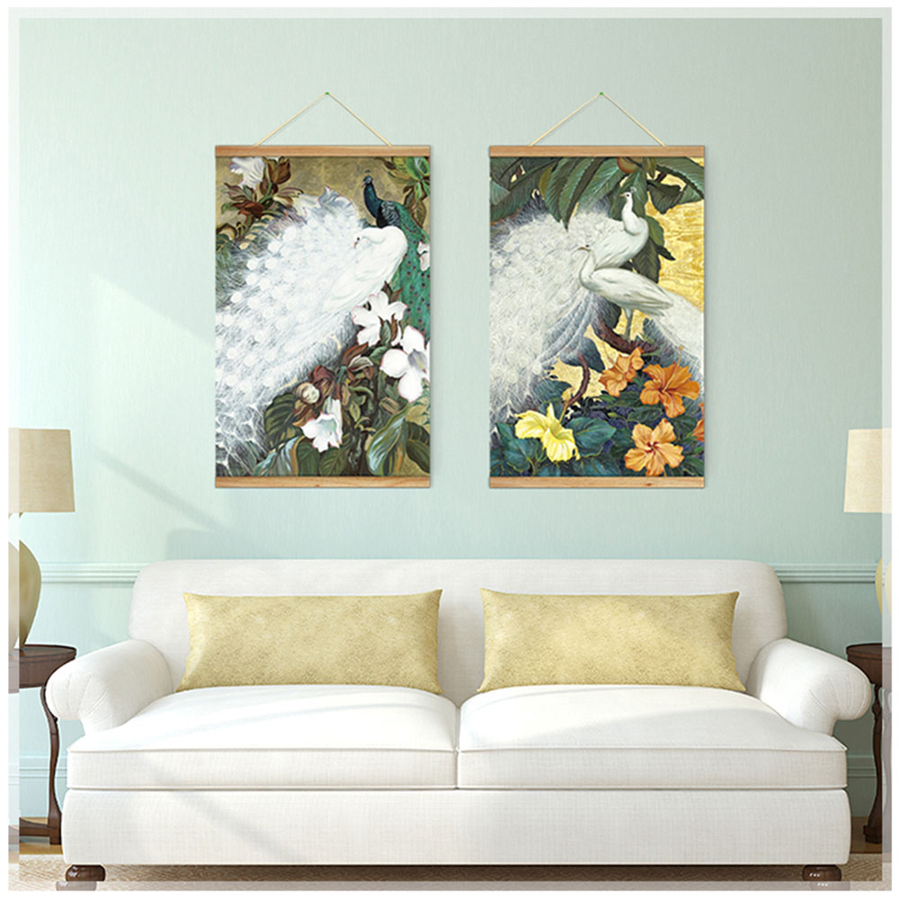 Peacock Living Room Decor Compare Prices On Painting For Living Room Peacock Online