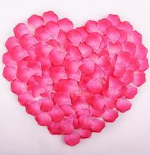 Hot Sale 500pcs/lot Wedding Decorations Fashion Atificial Flowers Wedding Rose Petals patal(China (Mainland))