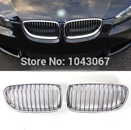 Chrome Kidney Hood Grille For BMW E90 LCI Sedan 4Door 323 325 328 330 335 09-11<br><br>Aliexpress