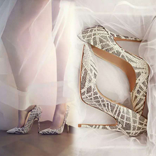 Beautiful Rhinestones Covered Bridal Shoes 2016 New Arrival Party Wedding Shoes Woman Heels High Quality Lady Shoes Women(China (Mainland))