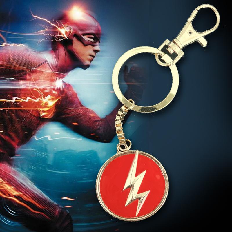 3D metal alloy creative key chain key ring Marvel Superhero Avengers logo Keychain Spider Man/Batman/Superman/lightning man(China (Mainland))