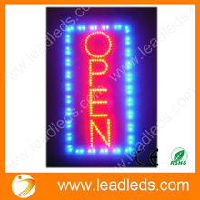 Animated Motion Running LED Business OPEN SIGN +On/Off Switch Bright Light Neon Signs Free Shipping