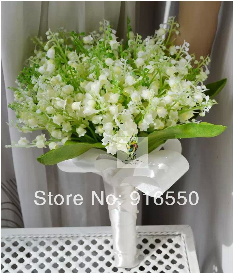 Lilies of The Valley Bouquet Bouquet Artificial Lily