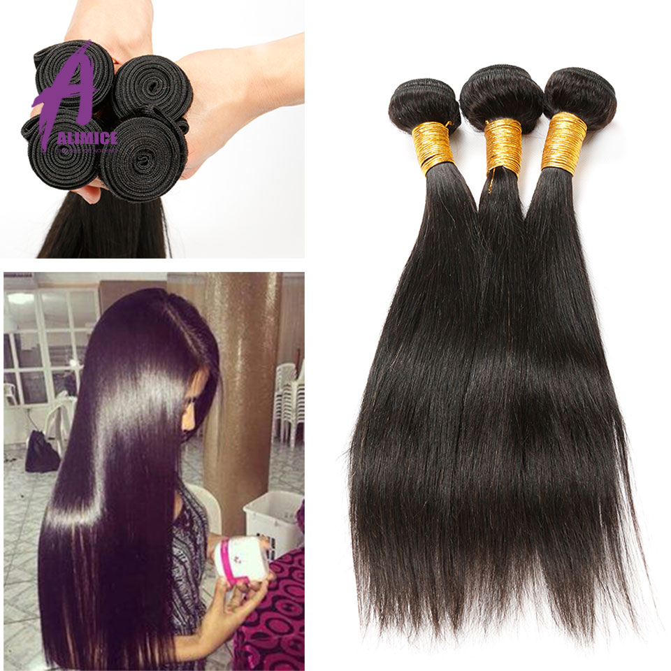 8A Grade Virgin Unprocessed Hair Straight Remy Hair 4Bundles Rosa Hair Products Indian Straight Hair Indian Remy Hair Extensions