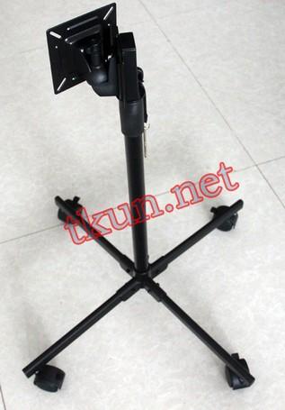 Supply Mobile / Lift adjustable tilt angle LCD monitor base stand(China (Mainland))