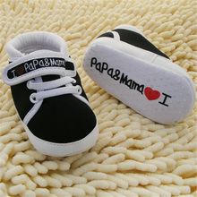 0 18M Baby Infant Kids Boy Girl Soft Sole Canvas Sneaker Toddler Newborn Shoes Hot