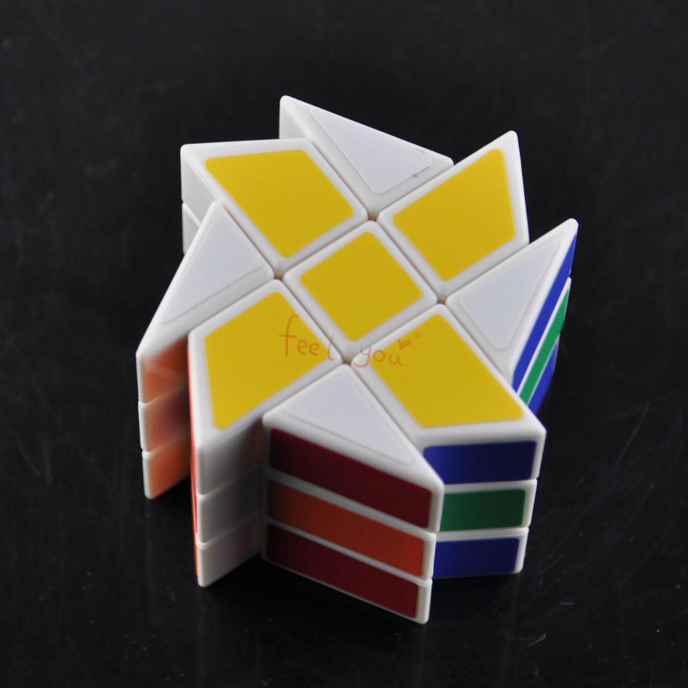 Flaming Chariot 3x3x3 Speed Colorful Cube Magic Twist Puzzle Classic Toy Gift Education(China (Mainland))