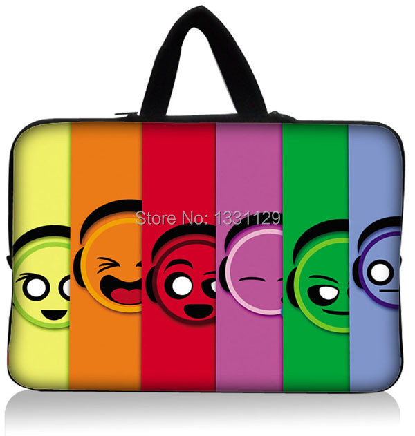 """Fashion 10"""" 9.7"""" 10.1"""" 10.2"""" Laptop Notebook Computer Sleeve Bag Case Tablet PC For Kids Handle Inside(China (Mainland))"""