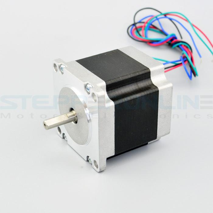 Buy nema 23 stepper motor bipolar 4 leads for Stepper motor buy online