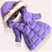 Chaqueta de invierno de algodón acolchada para niños