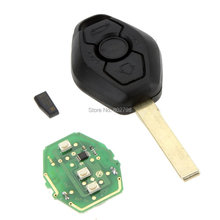 10pcs/lot EWS 3 Button Remote Key Keyless FOB 433MHz With Transponder Chip