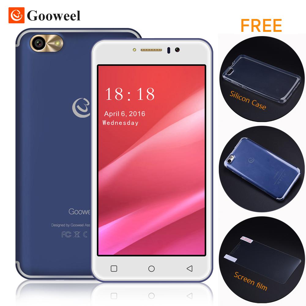 Gooweel M7 Smartphone 5.5 inch IPS screen MTK6580 quad core 3G cell phone 1GB RAM 8GB ROM Mobile phone 8.0MP Camera Free Gift(China (Mainland))