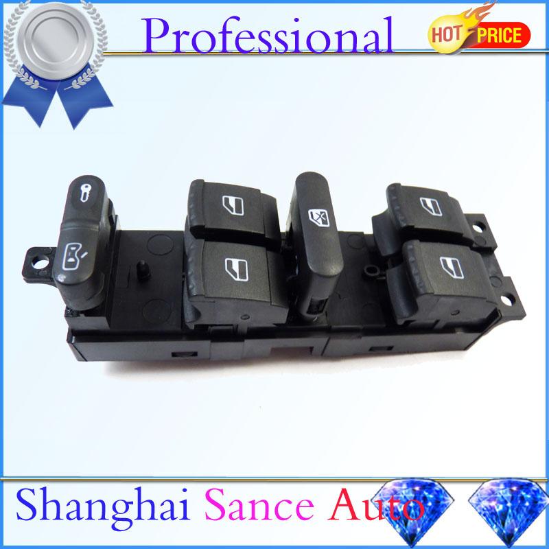 Master Window Power Switch 1J4959857 VW Golf Jetta GTI MK4 Passat B5 B5.5 Bora 1998 1999 2000 2001 2002 2003 2004 2005 - Shanghai Sance Auto Part Co., Ltd. store