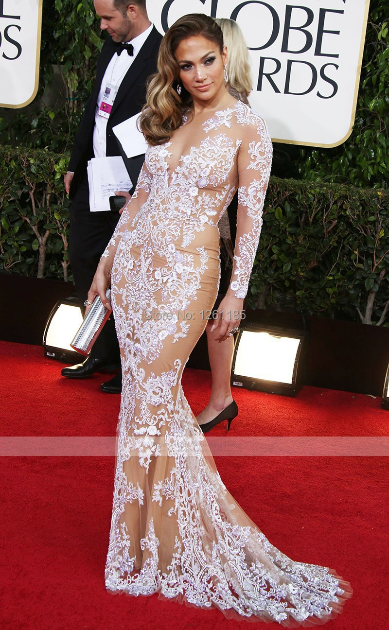 Mermaid gowns are a big miss on the Golden Globes red ...