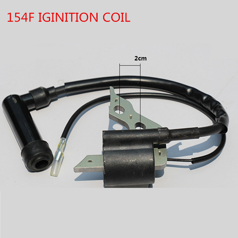 1KW 154F/156F Gasoline Engine Ignition Coil ,high voltage set for Generator spare Parts 1500/1800(China (Mainland))