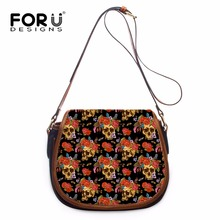 Buy FORUDESIGNS Brand Designer Women Shoulder Bags,2017 Skull Printing Small Messenger Bags,Ladies Girls PU Leather Crossbody Bags for $42.95 in AliExpress store