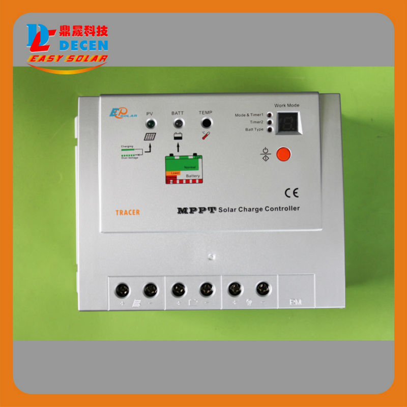 100% Real 20A MPPT PV Charge Controller 12V 24V Automatic Choose Solar Panel Battery Charge For Solar Power Generator System<br><br>Aliexpress