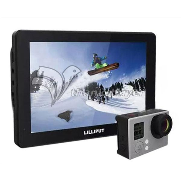 Lilliput MoPro7 Monitor with 2600mAh Built-in Battery HDMI &amp; AV Input Specific Monitor for GoPro Hero 3+ 4 Series<br><br>Aliexpress