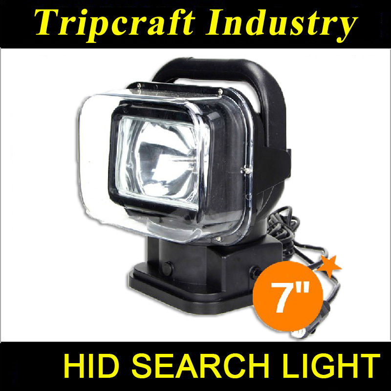 7 HID remote control search light hid search light remote control xenon hunting light Wireless control HID Searchlight