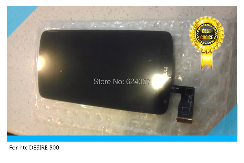 Original Black Full LCD Display& Touch Screen Assembly For HTC Desire 500 5088 506e