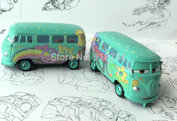 100% original --- FILLMORE Pixar Cars diecast figure TOY New # 36 free shipping(China (Mainland))