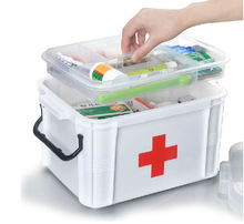family first aid boxes medicine cabinet multilayer storage box health kits household plastic boxes emergency box Emergency Kits(China (Mainland))