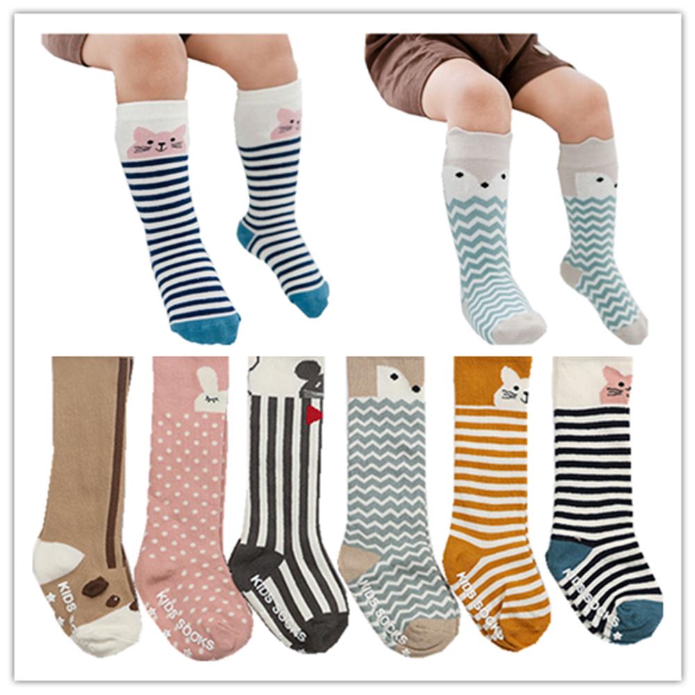 Chaussette Enfants Baby Knee High Socks Kids Warm Socks Baby Sokjes Newborn Animal Baby Socks Anti Slip Girls Socks Winter(China (Mainland))