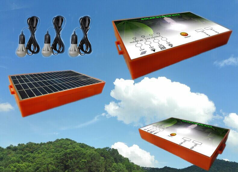2015 hot sale 3w solar home kit solar lighting system all in one solar lighing kit(China (Mainland))