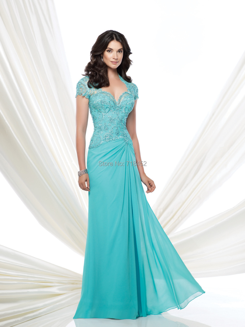 Turquoise Mother Of The Bride Dresses - Wedding Dress Ideas