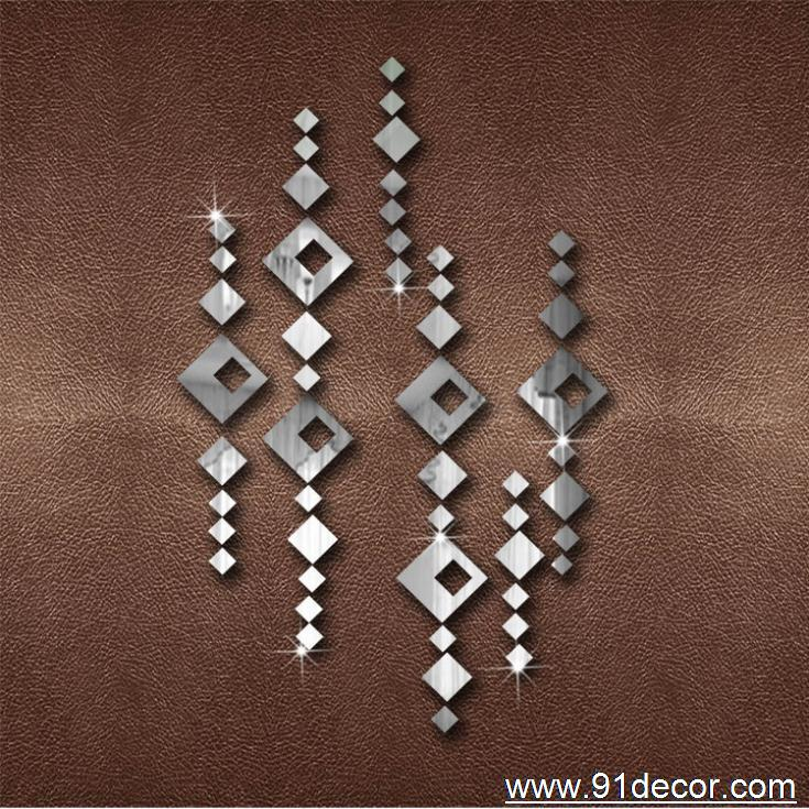 normal curtain wall sticker mirror home decoration gift - Yiwu International Trade Co., LTD store