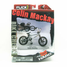 """2016 Flick Trix Bmx Finger Bike """"Colin Mackay"""" Cycle Star Vehicle Alloy model bicycle display set Mini toy for boy(China (Mainland))"""