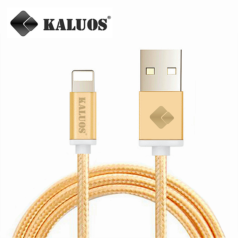 KALUOS 8Pin High Speed USB Data Sync Charging Cable For iPhone 5 5S 5C 6 6S Plus iPad 4 mini 2 Air 2 Fast Charge Wire 20cm 1m 2m(China (Mainland))