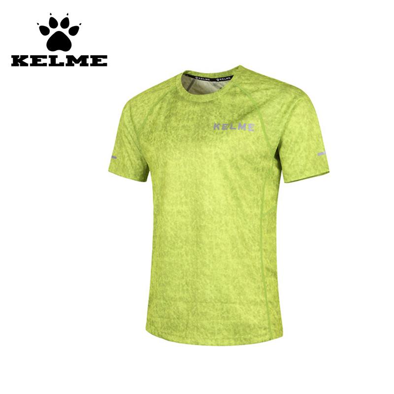 KELME 2016 Spain High Quality Soccer Training Suit Sport T-shirt Camisa De Futebol Survetement Football Football Shirt 69(China (Mainland))