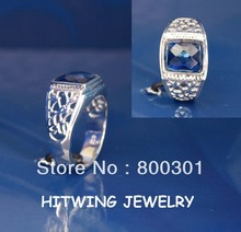 30262 mens sterling silver ring settings, stone ring designs for men(China (Mainland))
