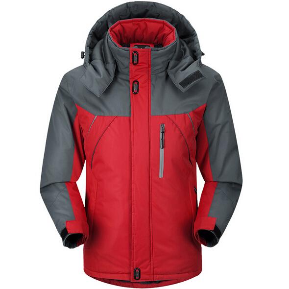 Men Outdoor Jacket Equipment Warm Bad Weather Resistance High Strength Sports Suit JK-0141(China (Mainland))