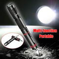 LED Mini Security protection Tactical Pen Self Defense Multifunction LED Flashlight Outdoor Survival Torch self defense