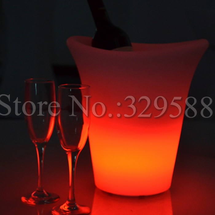 RGBW color changing wireless remote control Led ice bucket<br><br>Aliexpress