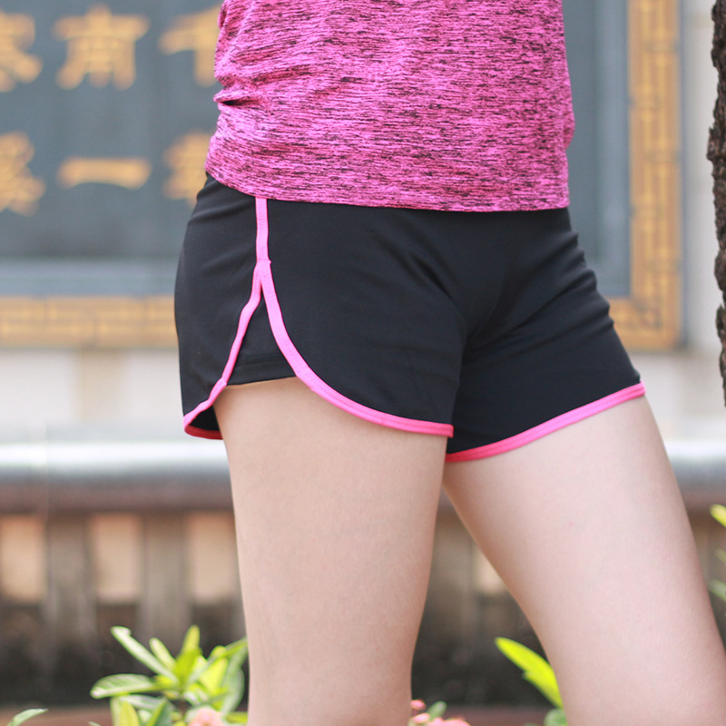 2017 New Gym Athletic Shorts Women Running Sexy Sport Shorts Girls Quick Dry Jogging Short Leggings Short Gym Clothing 8016(China (Mainland))