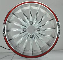 14x6.0 4x100 red lip alloy wheels(China (Mainland))