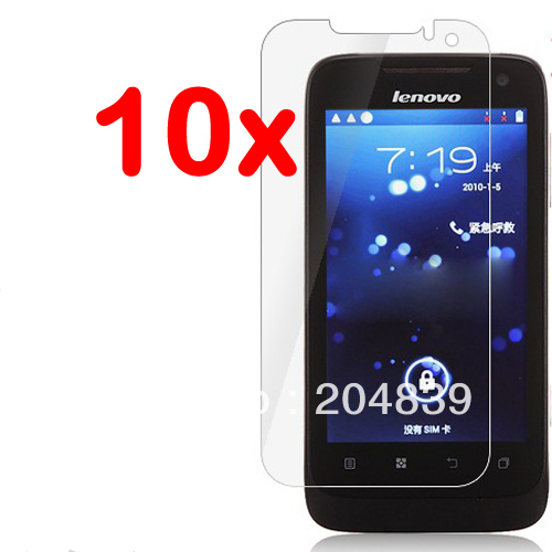 10X New CLEAR A789 Screen Protector Skin Guard Cover For Lenovo A789(China (Mainland))