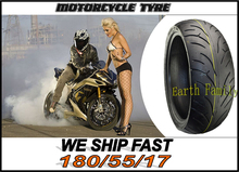 Motorcycle Road Tubeless vacuum tires tyres for motorcycle tire tyre 180/55/17 180-55-17 180 / 55 / 17(China (Mainland))