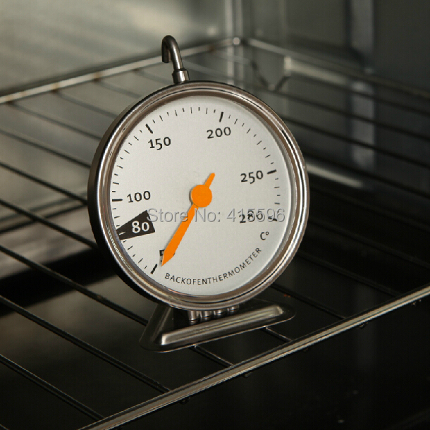 Germany Brand Stainless Steel Kitchen Oven Thermometer Machinery Oven Dedicated Baking Tools 50-280 Degree + Free Shipping(China (Mainland))